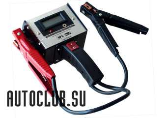 Нагрузочная вилка для проверки зарядки аккумуляторов