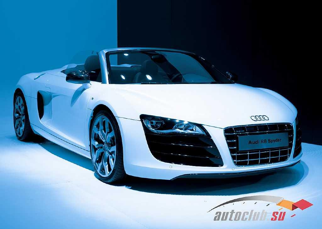 Суперкар Audi R8 и характеристики его модификаций, а также ценовая политика