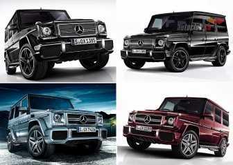 Mercedes Gelandewagen: цена дополнительных пакетов