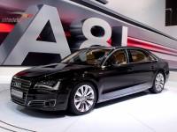 Audi A8L с увеличенным межосевым расстоянием