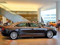 Габариты и клиренс Audi A8