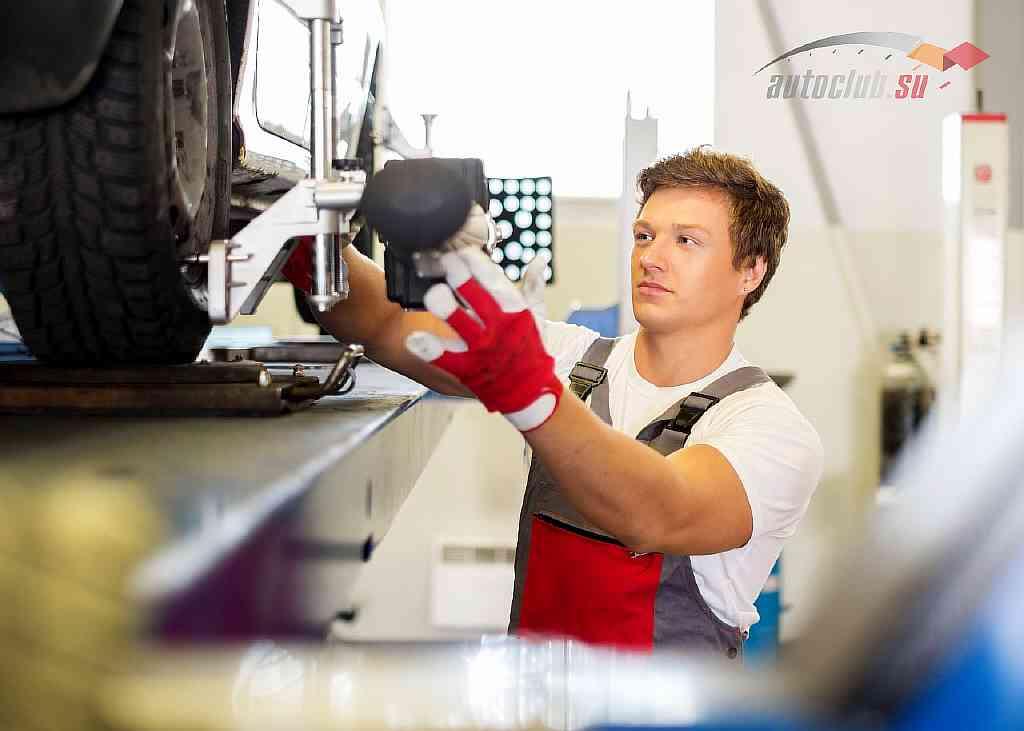 Где сделать развал схождение и как выполнить регулировку углов установки колес самостоятельно