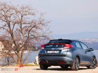 Honda Civic Hybrid back