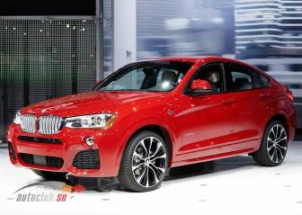 BMW X4: цена в России