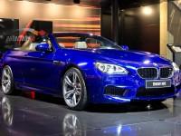 BMW M6 2012 blu