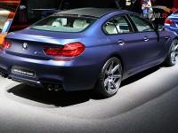 BMW M6 Gran Coupe blu