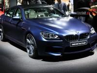 BMW M6 Gran Coupe blu color
