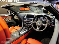 Luxurious and sporty interior of BMW M6