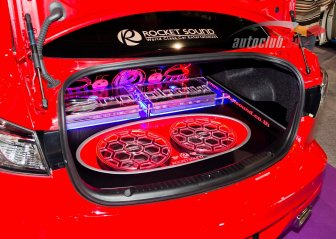 Car Audio Show Installation in Toyota - Yaris 2011
