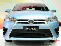 New Toyota Yaris at The International Motor Expo on November 28, 2013 in Nonthabur