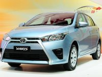New Toyota Yaris at The International Motor Expo on November 28, 2013 in Thailand