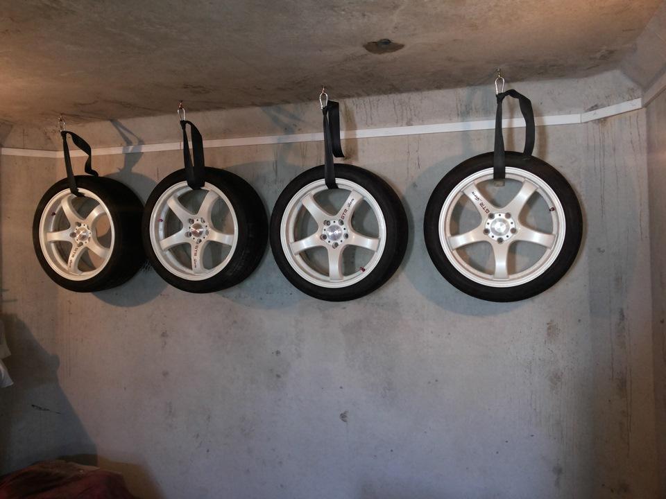 Подвешенные колёса
