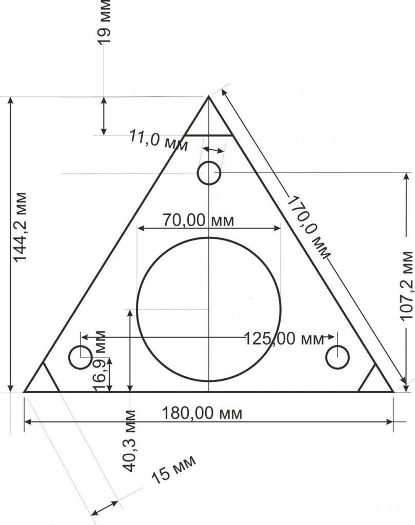Увеличения спортейдж проставок 3 чертеж клиренса для