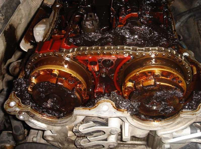 Некачественное моторное масло