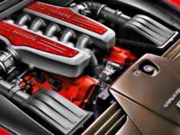 Система охлаждения двигателя Ferrari, графика