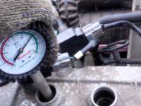 Измеряем компрессию в двигателе