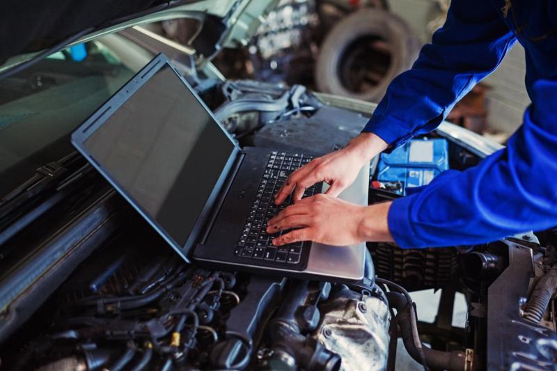 Ноутбук на моторе