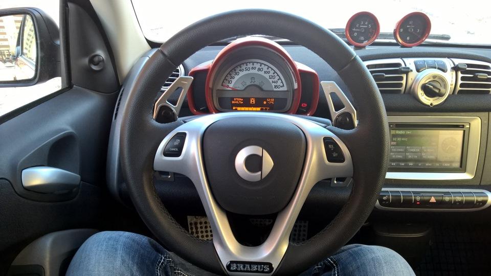 Руль автомобиля Smart