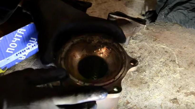 Пламегаситель с приваренным кольцом