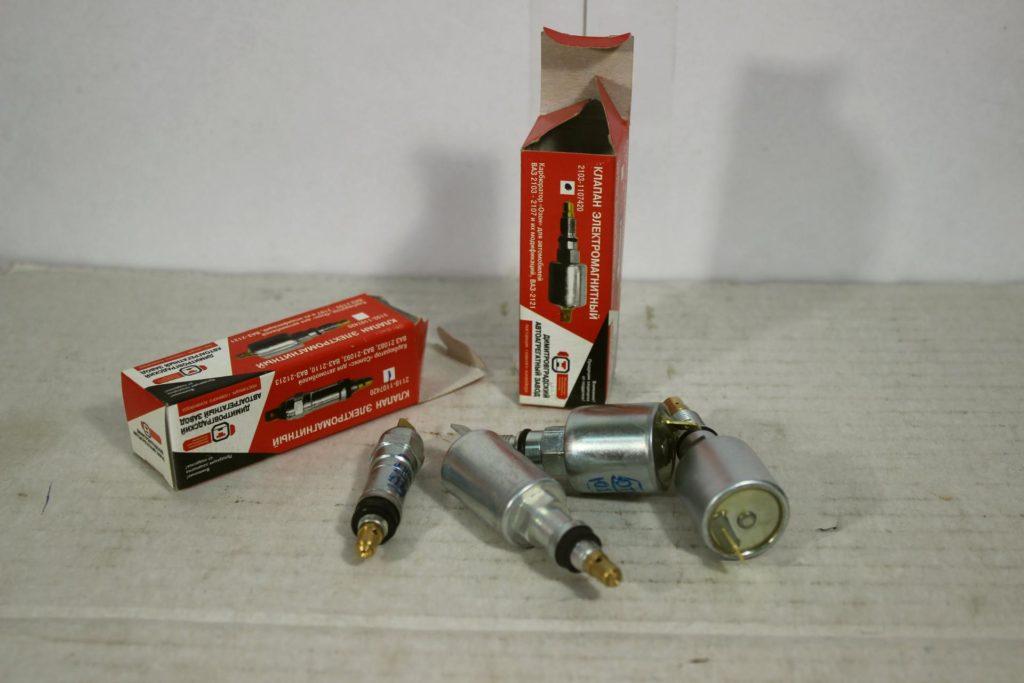 Электромагнитные клапана на разные карбюраторы ВАЗ