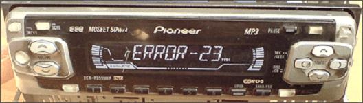Ошибка error-23