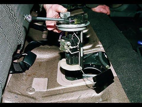 Демонтаж топливного модуля для его замены
