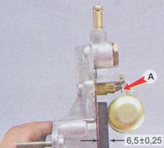 Игольчатый клапан карбюратора ДААЗ 2107