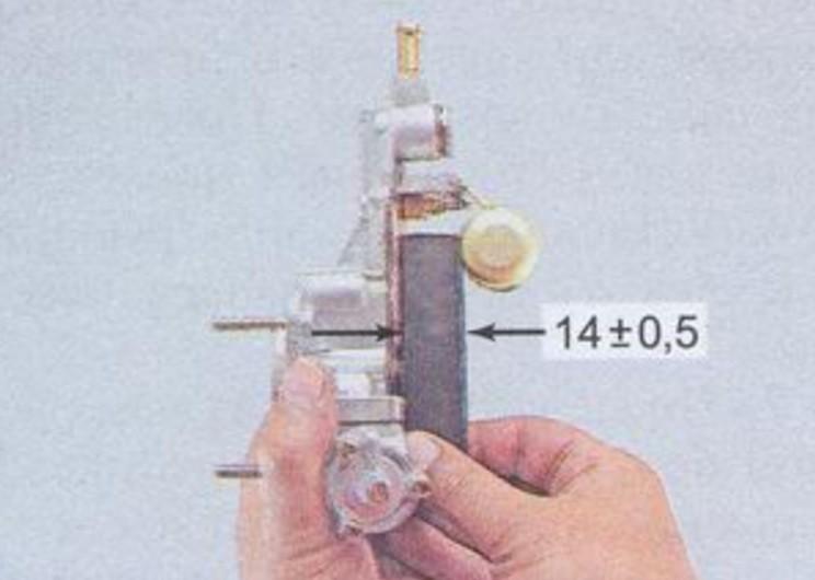 Расстояние открытия клапана на карбюраторе ДААЗ 2107