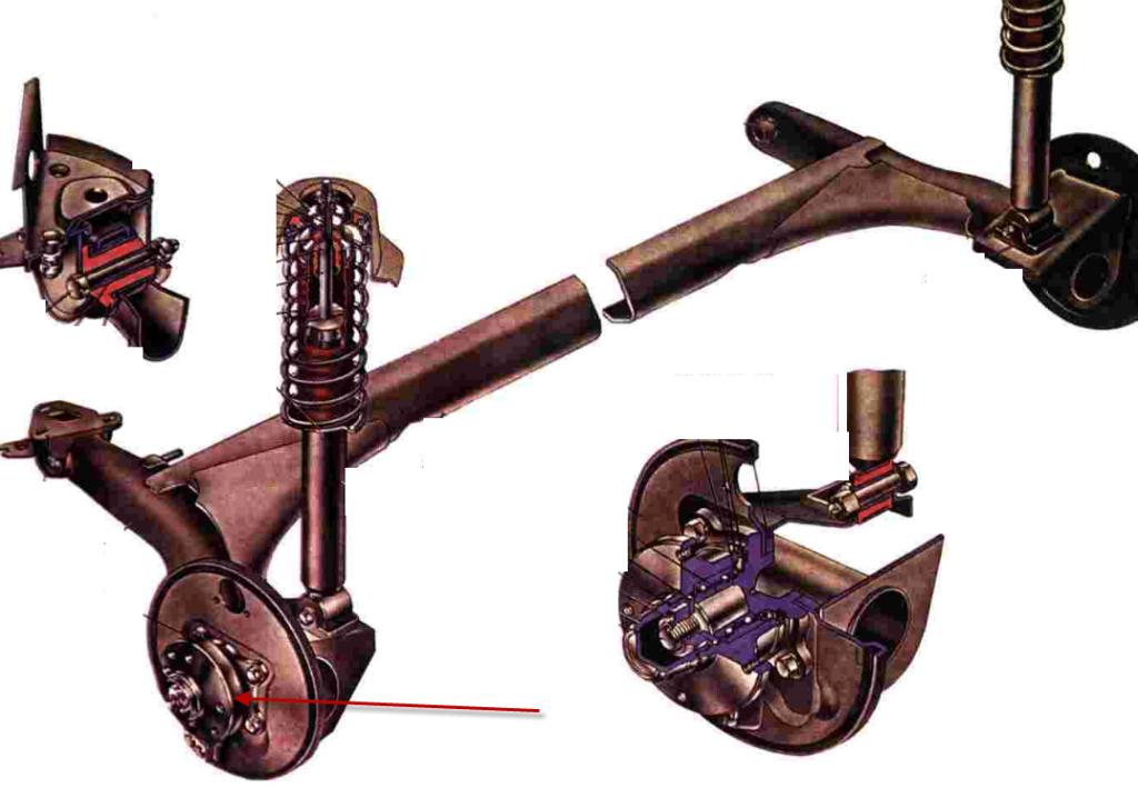 Задняя балка ВАЗ 2109