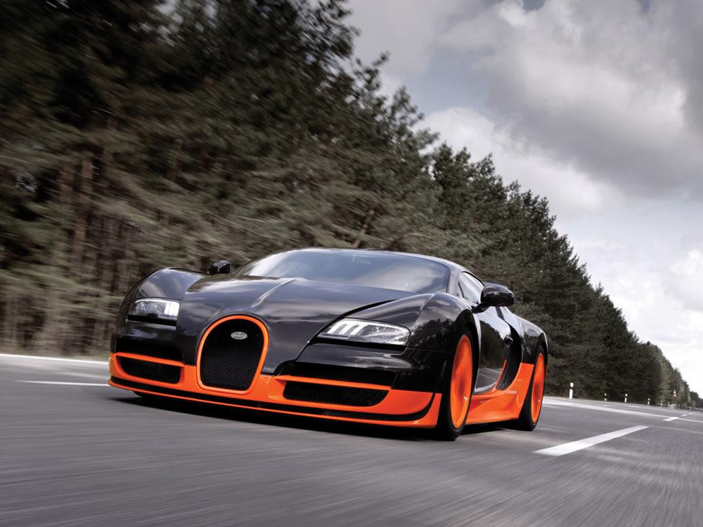 Автомобиль Bugatti Veyron 16.4 Supersport