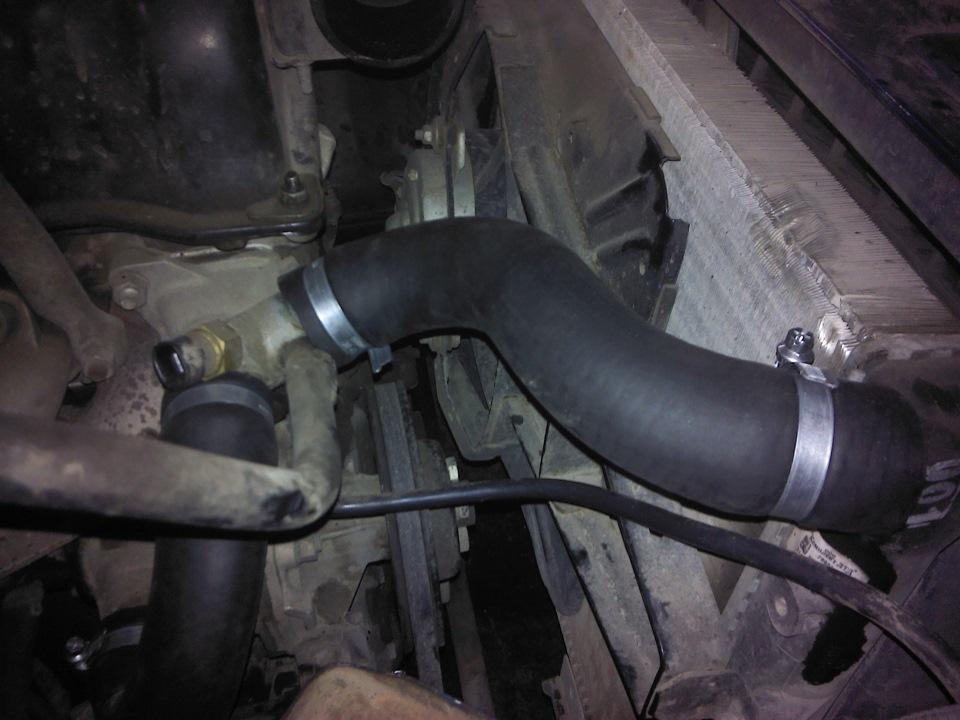 Шланги и патрубки системы охлаждения