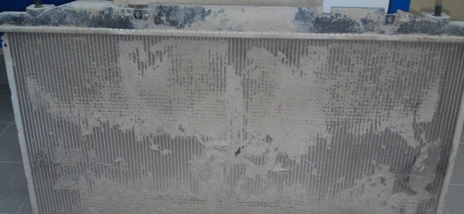 Забитый конденсор