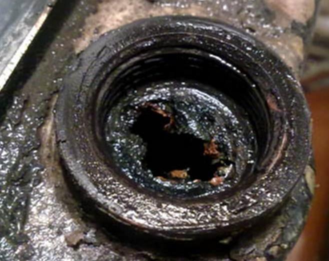Загрязнённое гнездо ДДМ «Фольксвагена»