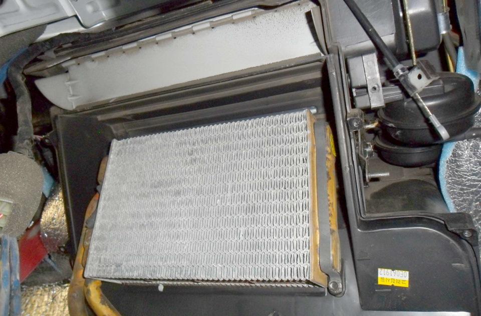 Дополнительный радиатор печки «Дэу Нексия»