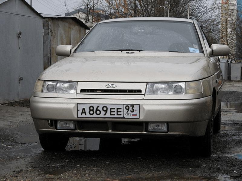 ВАЗ 2110 с противотуманными фарами