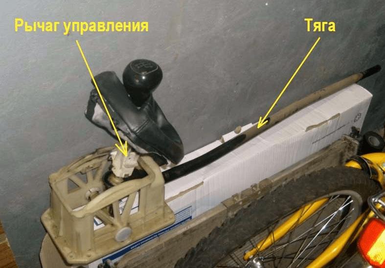 Механизм управления коробкой передач
