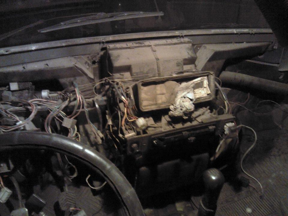Печка автомобиля