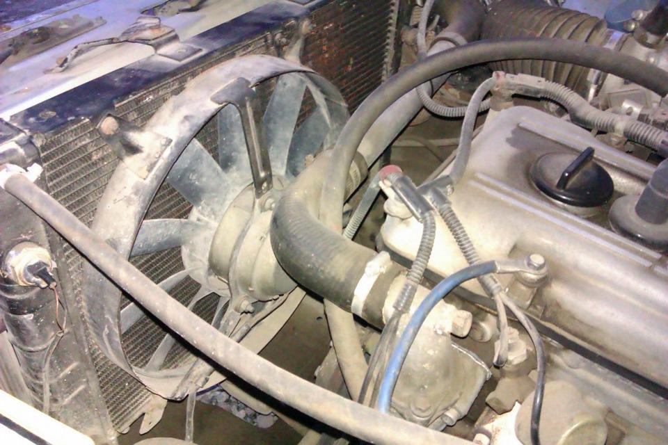 Вентилятор охлаждения двигателя ЗМЗ 405
