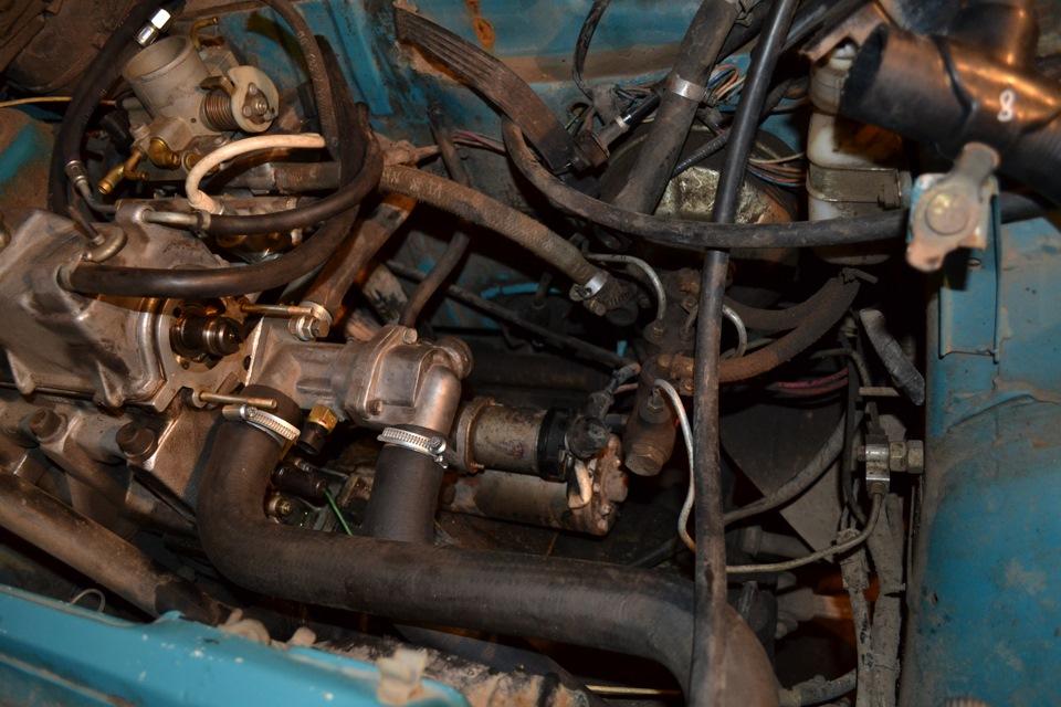Термостат двигателя автомобиля КАМАЗ
