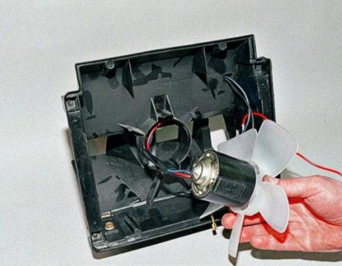 Снятие печного вентилятора ВАЗ 2107