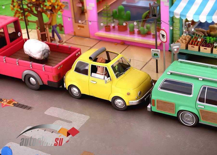 Как припарковать машину задним ходом: обучающее видео