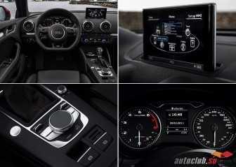 Салон и интерьер Audi A3