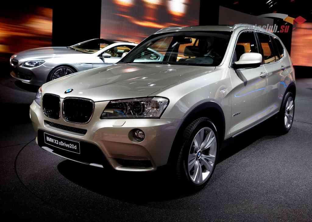 Новый кроссовер BMW X3 и отзывы владельцев