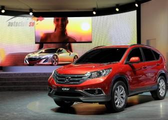 Honda CR V: технические характеристики