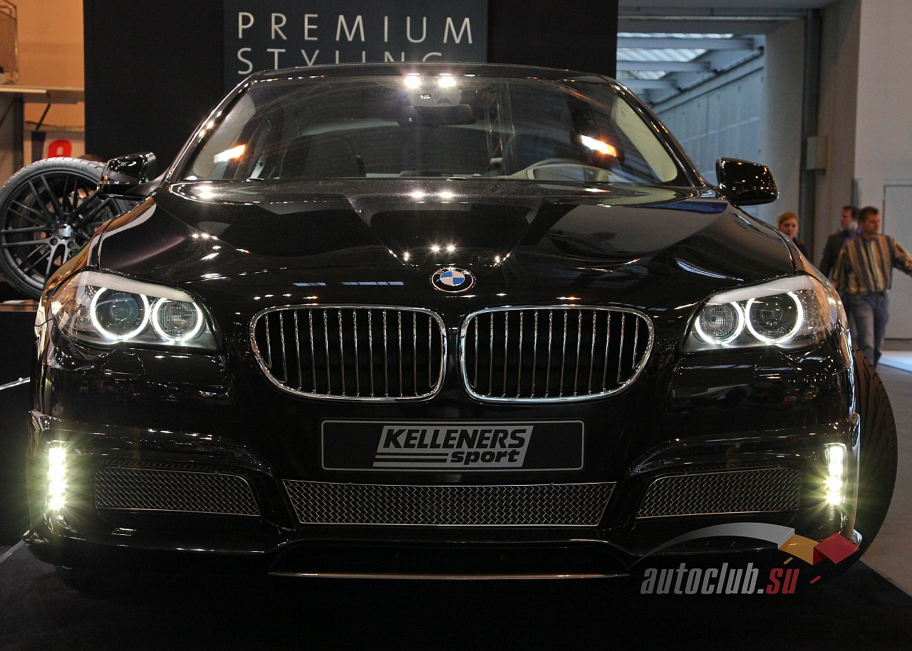 Технический уровень BMW M5 F10 и цена опций