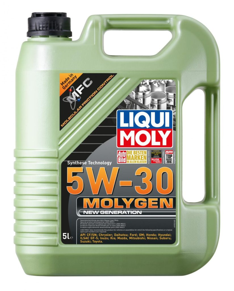 Гидрокрекинговое масло Liqui Moly 5w-30
