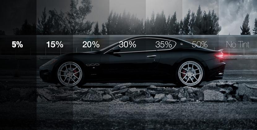 Процент светопропускаемости тонировочной плёнки для авто