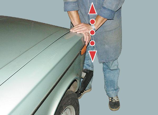 Проверка передних амортизаторов ВАЗ 2107