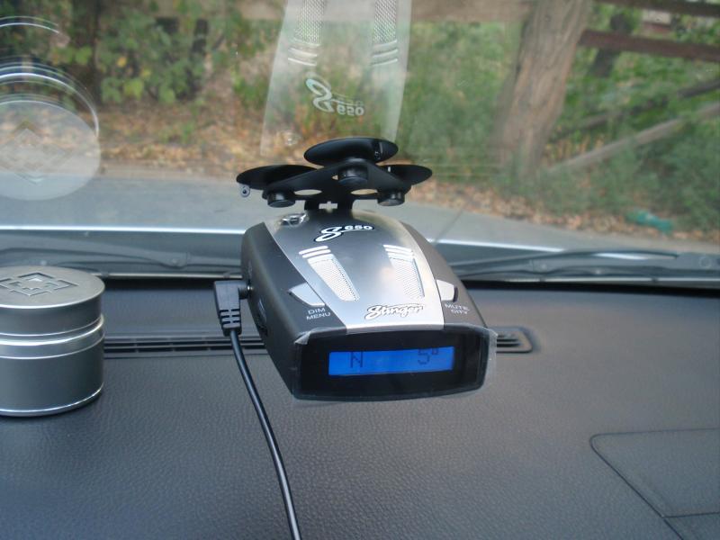 Как выбрать и установить радар-детектор для автомобиля