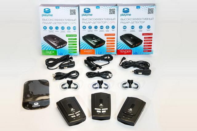 Радар-детекторы фирмы PlayMe